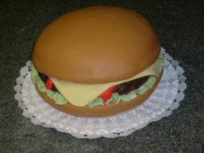 Hamburger torta